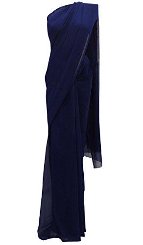 Pakistanische Traditionelle Partei-Abnutzungs-Bollywood-Hochzeit New Indian Ethnic Kleid Designer-chiffon Sarees