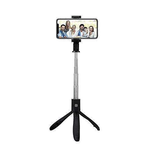 MYGIRLE Bluetooth Selfie Stick Stativ, Mit Bluetooth-Fernauslöse Für Samsung Galaxy S10 S10+ S9 S8 S7 S6, iPhone XS Max X 8 7 6S Plus 6 Und Alle Smartphones (Teleskop-stange Iphone)