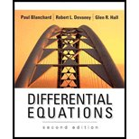Differential Equations - Textbook Only by Paul Blanchard (2002-08-01)