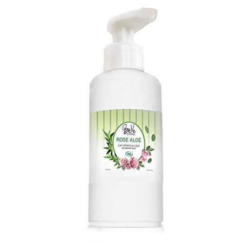 lait démaquillant Rose Aloe biologique