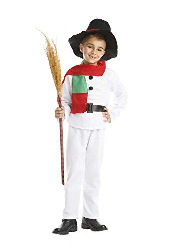 Imagen de disfraz de muñeco de nieve infantil 7 9 años