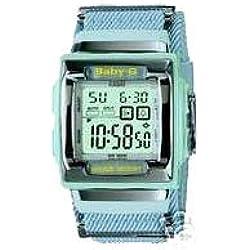 Casio cuadrado Baby-g Azul claro reloj