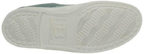 Bensimon Tennis Elly, Unisex-Kinder Hohe Sneakers Grün - Vert (Vert de Gris 614)