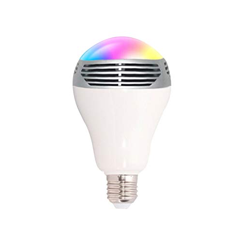 LED-Licht Intelligentes RGB-Bluetooth-LED-Licht 4,0 Audio Dimmable E26 / E27 LED Musik-Licht-Farbsteuerung Licht