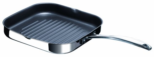 beka-chef-non-stick-griddle-pan-stainless-steel-silver-265-cm-diameter