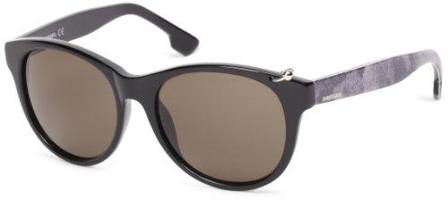 Diesel Sonnenbrille DL-0049-01A (55 mm) schwarz/weiß