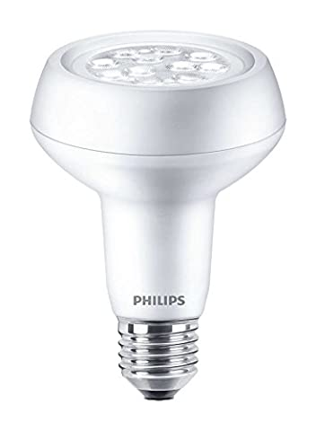 Philips Corepro LED 5.7 W (60 W) E27 Edison Screw, R63 Reflector Spot Light, Warm White, 36 Degree Beam Angle, Dimmable, Halogen Replacement