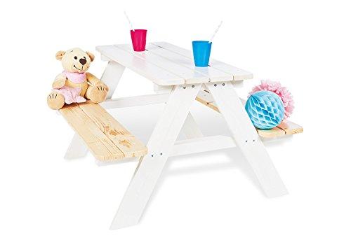 Preisvergleich Produktbild Pinolino 201611 Kindersitzgarnitur 'Nicki für 4', weiß