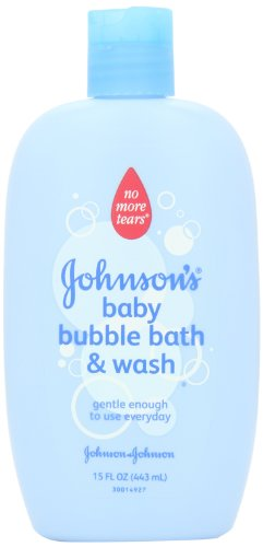 Johnson's Baby Bubble Bath and Wash, 15 Ounce by Johnson & Johnson