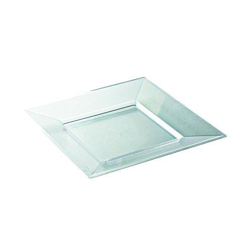 Aluplast piatto quadrata Prestige cristallo (La Maison Cristallo)