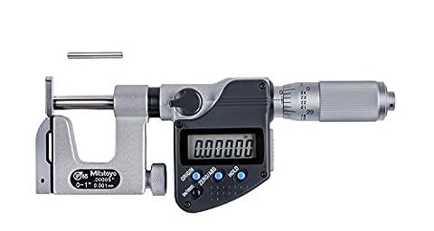Mitutoyo 317–351–30Digimatic interchangeables enclume Micromètre, 0Mm-25mm