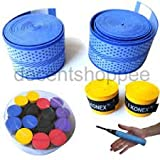 #5: Aaina Konex Racket grip Sweat absorption with soft feel - set of 2 Grips, Colour Assorted.