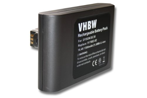 vhbw Li-Ion Akku 1500mAh (14.4V)...