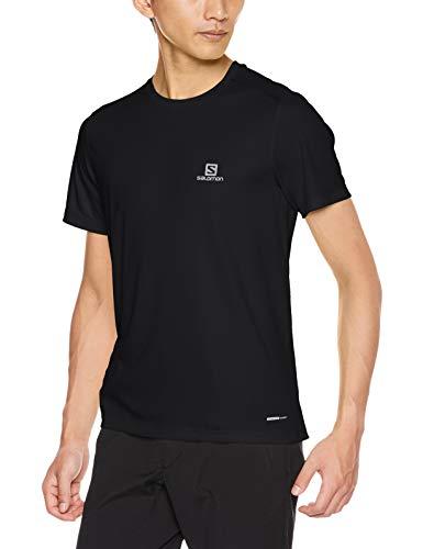 SALOMON Herren Stroll SS Tee Kurzarm-Shirt, Schwarz (Black), XL -