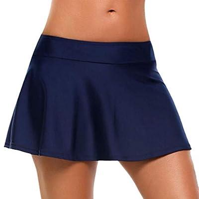 Romano Women's Solid Flare Skater/Bikini Swim Skirt in 9 Colors