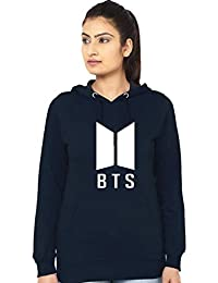 Melcom Cotton Navy Blue Sweatshirt : BTS