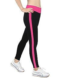 iLoveSIA® Damen Capri Legging Running Pants (Schiff von Amazon Warehouse)