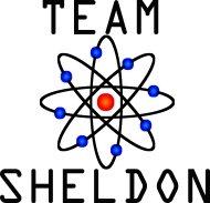 Mister Merchandise Ladies T-Shirt Team Sheldon Frauen Damen Tee Schwarz