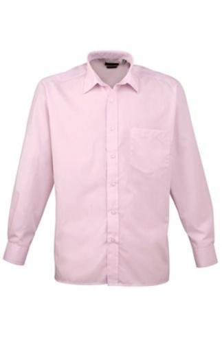 Preisvergleich Produktbild Premier Colours Mens Long Sleeve Poplin Formal Work Shirt