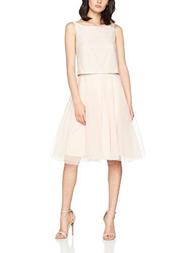 ESPRIT Collection Damen Kleid 067EO1E032, Rosa (Light Pink 690), X-Large