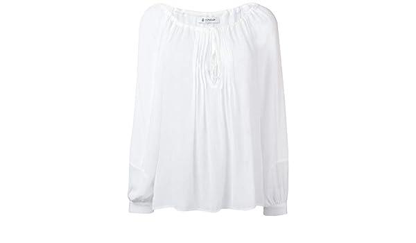 Viscose Femme Blouse C402if012dxxx000o Dondup Null Blanc lTJFKc1