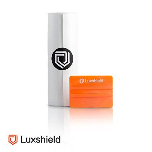 Luxshield Lackschutzfolie 20x200cm für Auto, Motorrad, Bike - Schutzfolie transparent, selbstklebend, Meterware aus DE