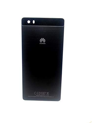 iSkyce 129B. Noir Cache Batterie pour Téléphone Huawei P8 Ascen