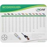 InLine 22161 Tappetino per Mouse Laser e Ottici, Superficie Ottimizzato per Lavori di Precisione, 220X, Nero