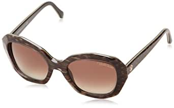 Roberto Cavalli Women's RC797S Sunglasses, Brown (Black/Brown Python Effect), One Size (Manufacturer Size:54 -20 -140)