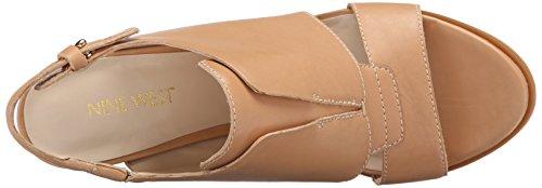 Nine West poplock cuir Sandales à talons Natural