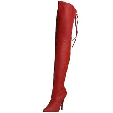 Pleaser LEGEND-8899–Scarpe per donna rosso Size: 41