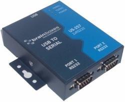 Brainboxes, USB vers série RS2322ports, us-257