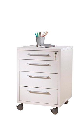 Cassettiera scrivania Bianca...