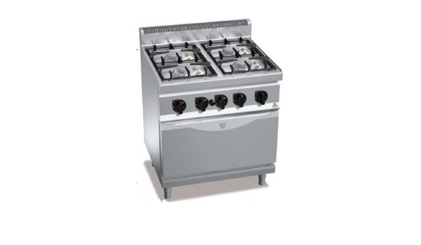 Berto S Kitchen With Gas 4 Burner With Gas 1 1 Eco P700 Amazon De Home Kitchen