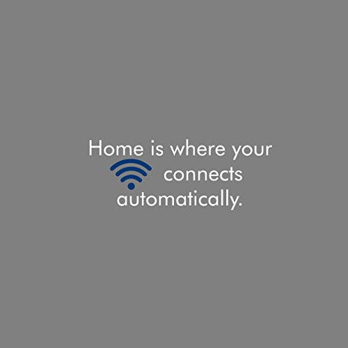 Home is where your Wifi connects automatically - Herren T-Shirt Grau Meliert