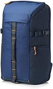 HP 5EF00AA#ABB Pavilion Tech Backpack For Laptop with an RFID pocket, Water-Resistant - Blue