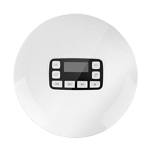 Richer-R Lecteur CD avec Sortie Audio de Haute qualité, Portable Antichoc Bluetooth HiFi stéréo Lecteur de Musique CD avec écouteurs EU Plug... 8