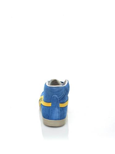 Onitsuka Tiger Fabre Bl-l Vin, Sneaker bambine Blu blu Blu/Giallo