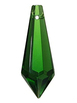 """Kristall """"Wiener Pendel"""" 38mm Smaragd ~ Grün ~ Feng Shui Suncatcher von AMBROS® - Kristall - Lampenhans.de"""