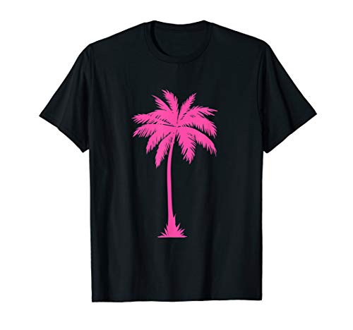 Palm Tree Silhouette Top Hawaii Maui Beach Art | I Live Life T-Shirt