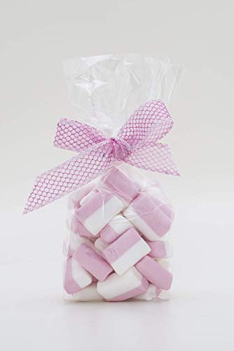 Sacchetti buste per alimenti biscotti e caramelle 80+50x240 (50pz)