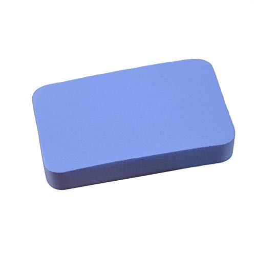 kaakaeu Langlebige, Starke Wasseraufnahme Schwamm für Tischtennisschläger Abdeckung Pflege & Wartung Weicher Schwamm Pad Reinigungszubehör, blau