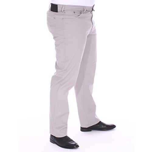 Pierre Cardin Pantalon grande taille homme Gris