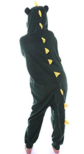 Imagen de dato ropa de dormir pijama cocodrilo verde cosplay disfraz animal unisexo adulto alternativa