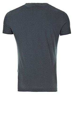 Blend Herren Vintage T-Shirt Print (74612) dark slate blue