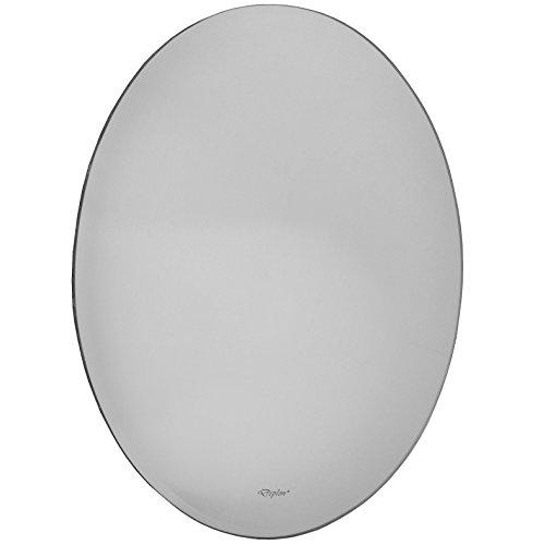 Moderner Spiegel - ca. 60x45cm - oval