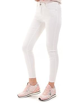 Pantalones blancos elásticos básico VIAMY de Vila Clothes