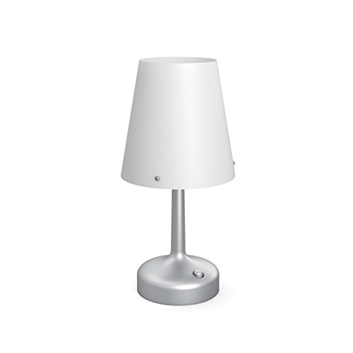 Philips 7179648P0 LED Accessories Portable Table Light – Grey, Battery Operated, 0.6 watts