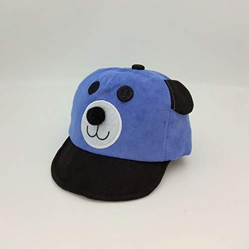 Candybarbar Kinder tragen Baseball Cap Cap Flip Hut Baby Cartoon Bär Hut einstellbare Bär Hut