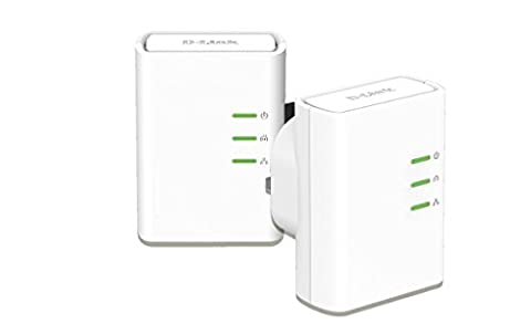 D-Link DHP-509AV/B AV 500 HD PowerLine Starter Kit